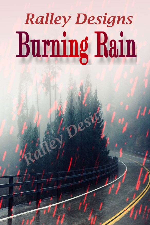 Burning rain watermark