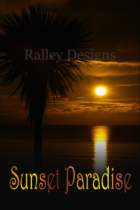 Sunset paradise watermark